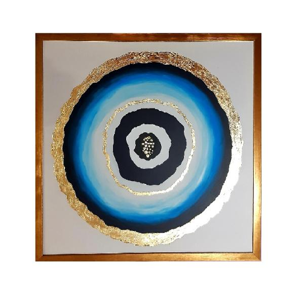 تابلو نقاشی طرح چشم نظر کد 03