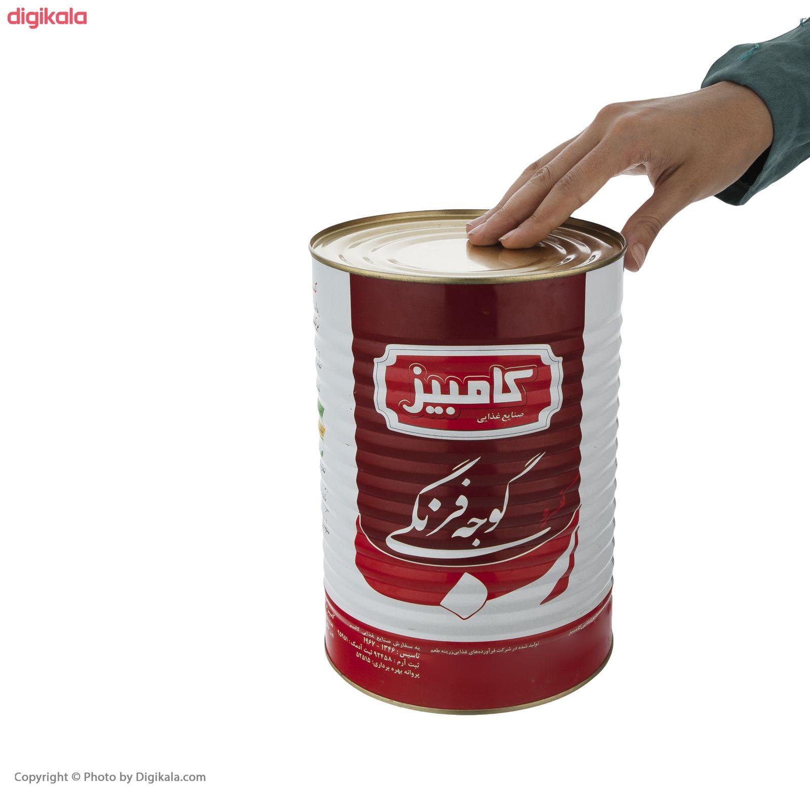 کنسرو رب گوجه فرنگی کامبیز - 4 کیلوگرم main 1 4