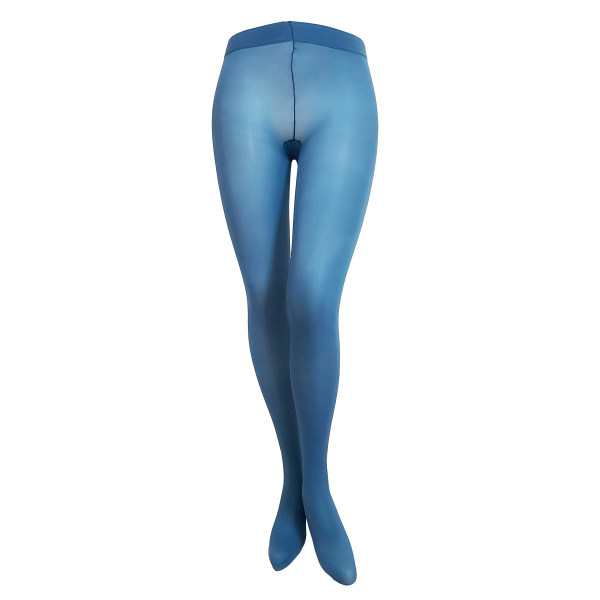 جوراب شلواری زنانه پِنتی مدل DEN40 رنگ آبی