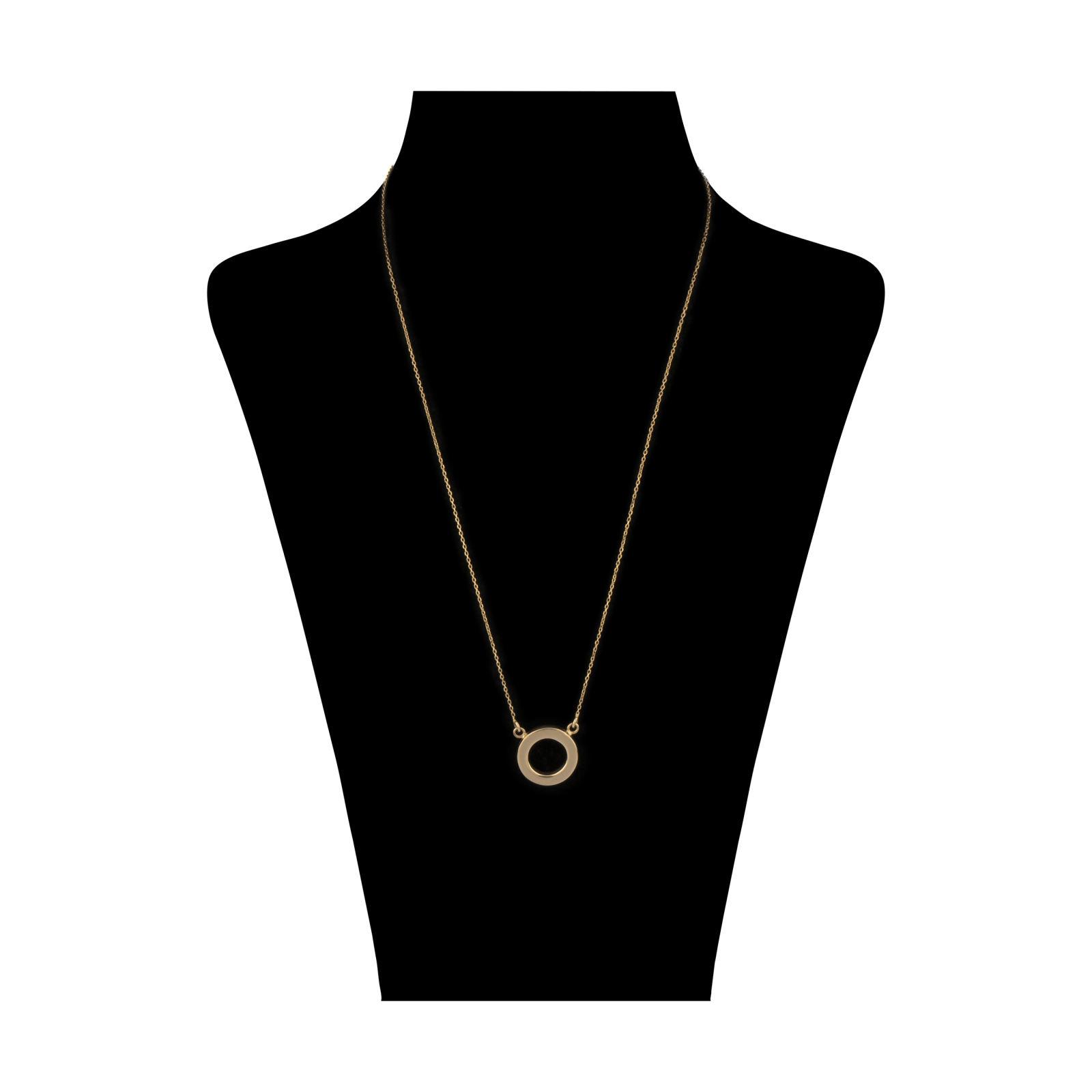 گردنبند طلا 18 عیار زنانه سنجاق مدل X052323 -  - 2