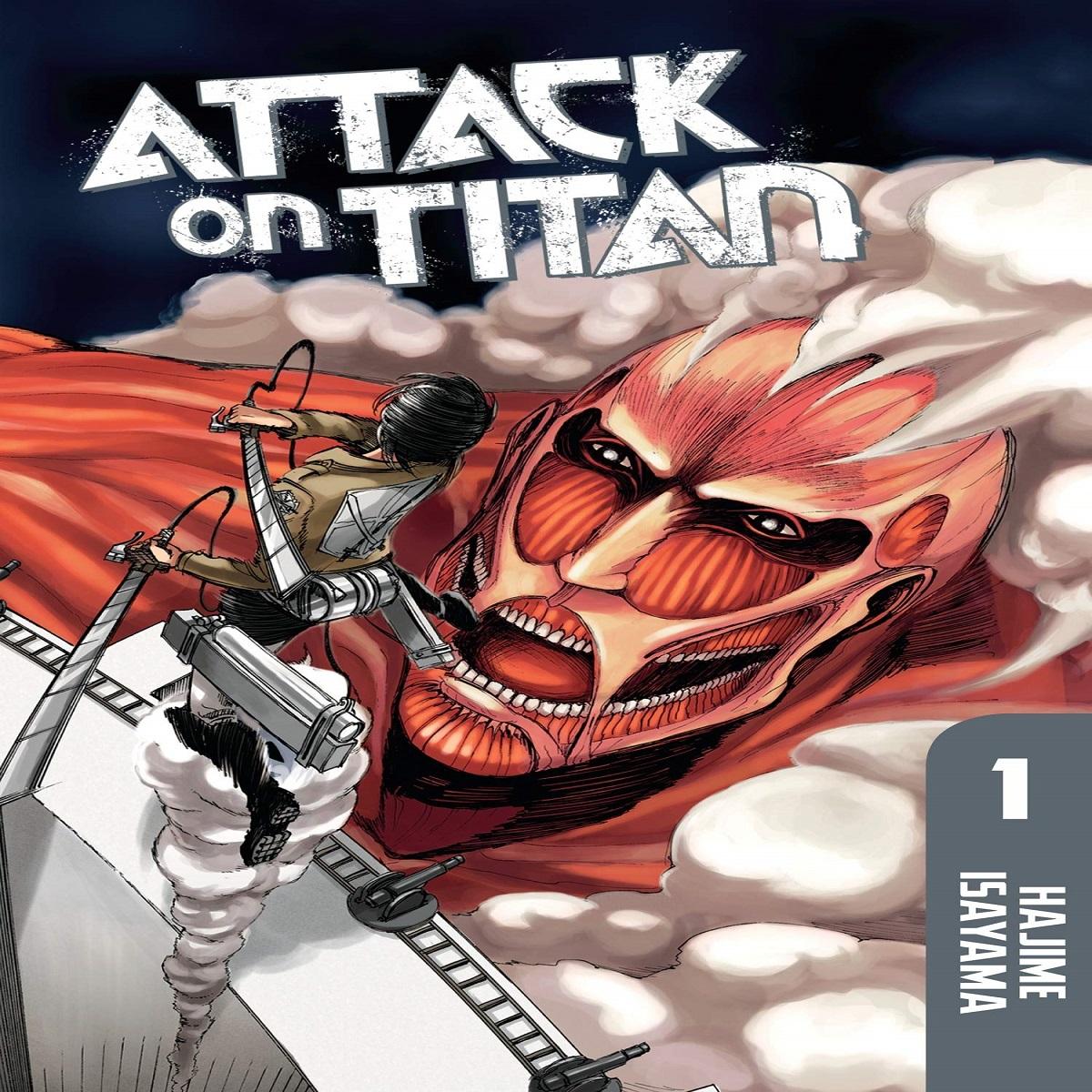 مجله Attack On Titan 1 ژوئن 2012