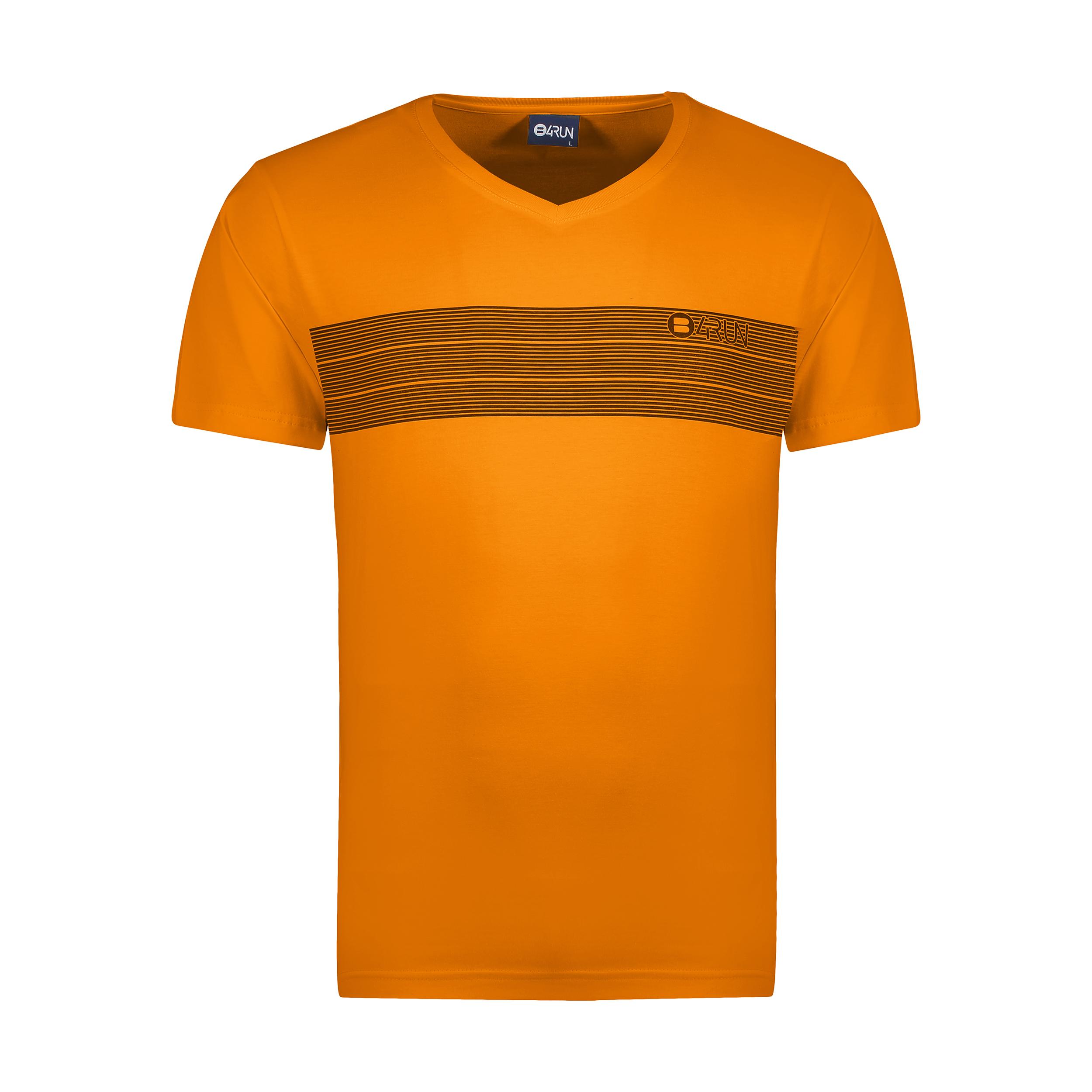 تی شرت ورزشی مردانه بی فور ران مدل 210311-23