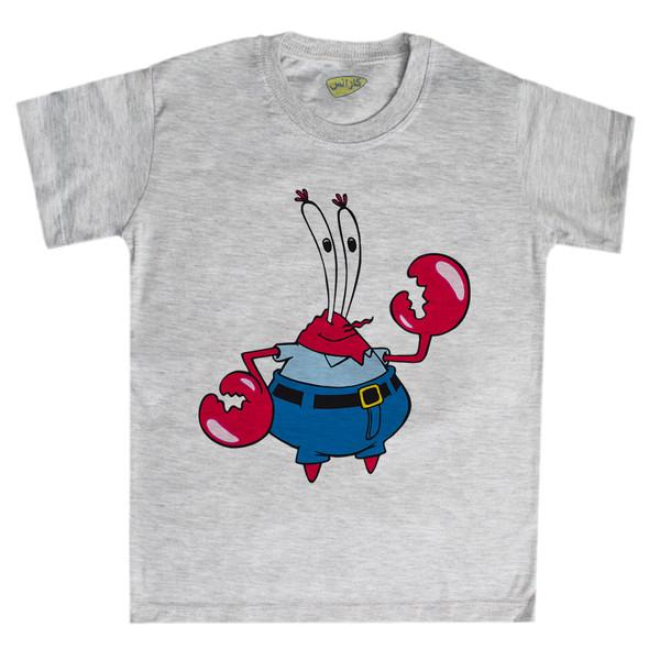 تی شرت پسرانه کارانس طرح آقای خرچنگ مدل BTM-1053