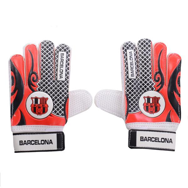 دستکش دروازه بانی پسرانه طرح بارسلونا کد BR03
