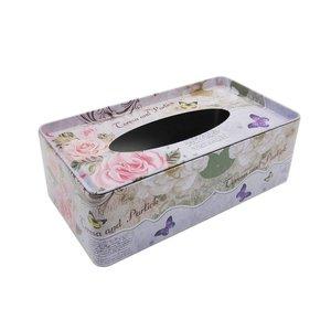 جعبه دستمال کاغذی طرح رز