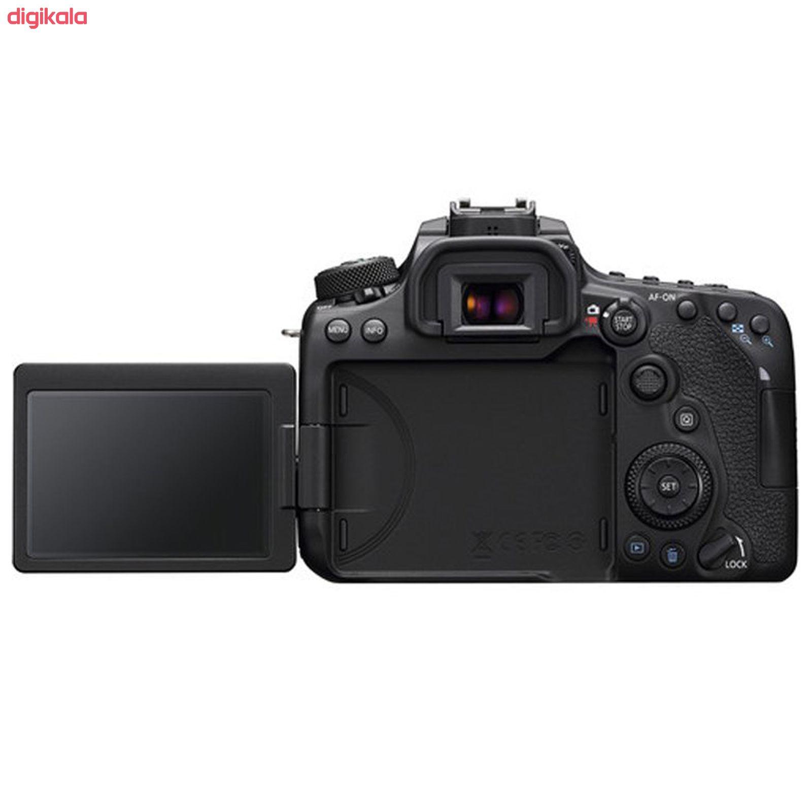دوربین دیجیتال کانن مدل EOS 90D به همراه لنز 135-18 میلی متر IS USM main 1 6