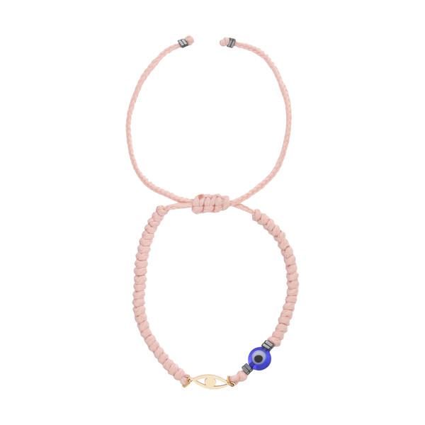دستبند طلا 18 عیار زنانه نیوانی مدل Ba1034