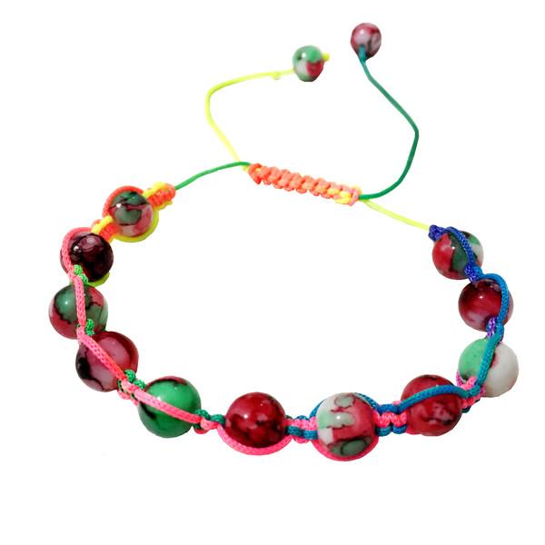 دستبند دخترانه مدل آبنباتی