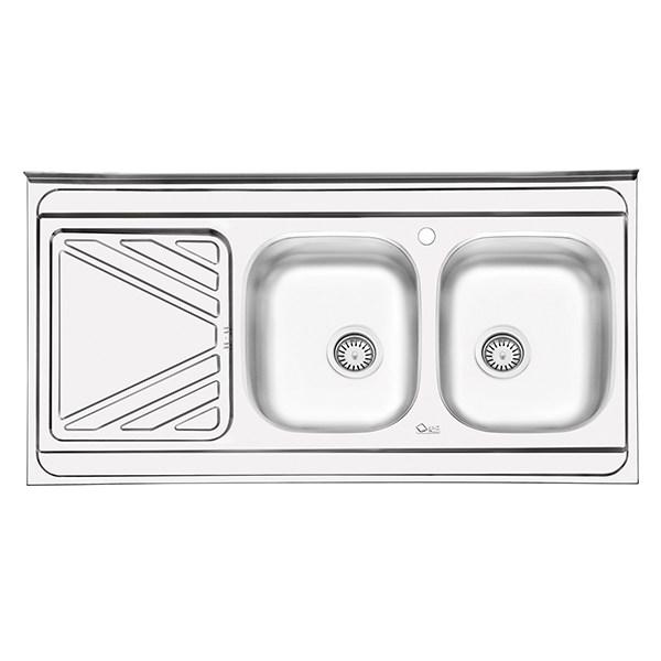 سینک ظرفشویی ایلیا استیل مدل 3028 روکار