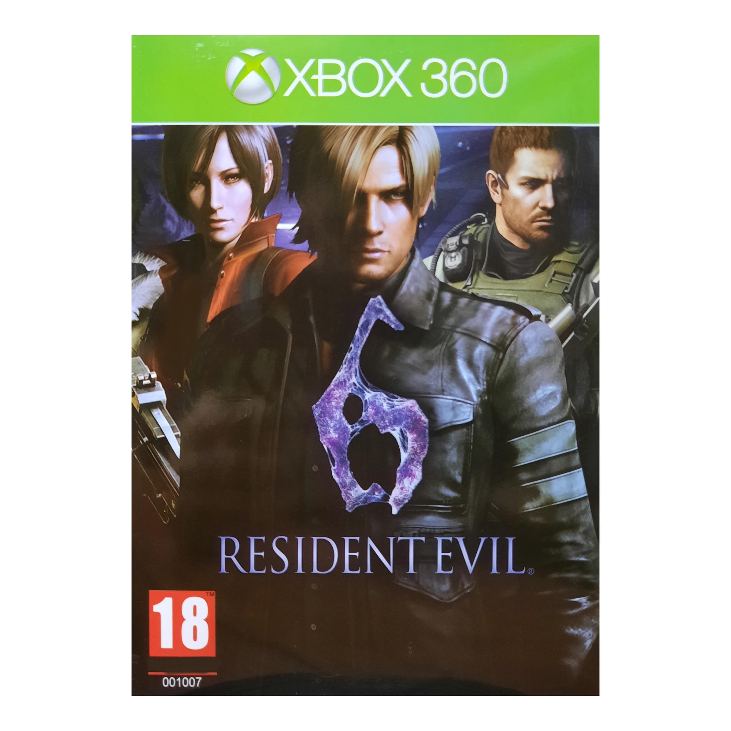 بازی Resident Evil 6 مخصوص Xbox 360