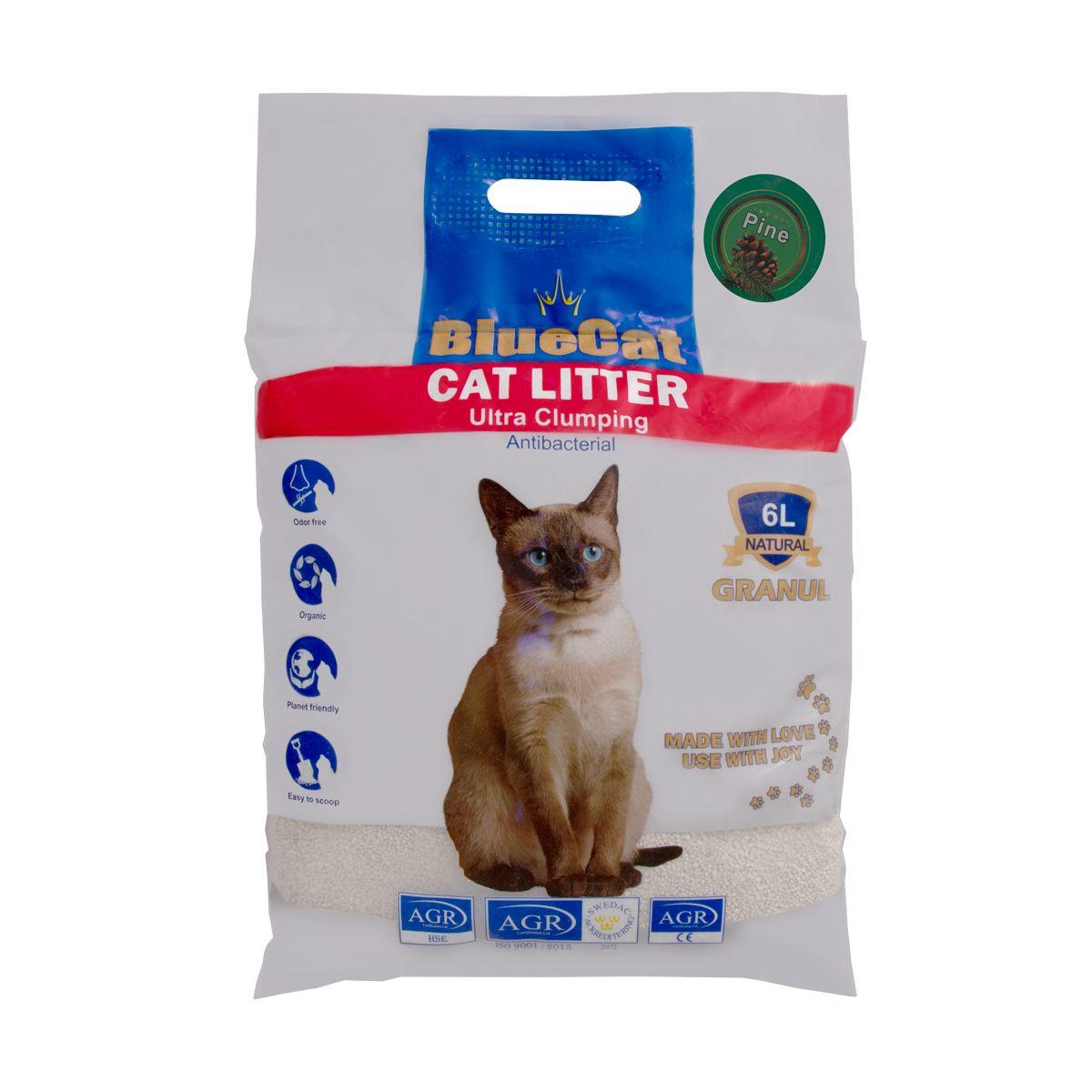 خاک بستر گربه بلوکت مدل Kaj_6 وزن ۶ کیلوگرم