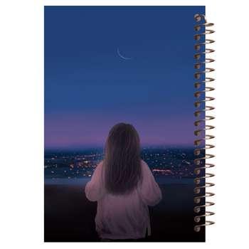 دفتر یادداشت مشایخ مدل دختر کوچولو کد 5108