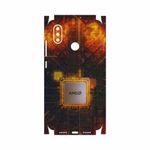 برچسب پوششی ماهوت مدل AMD Brand-FullSkin مناسب برای گوشی موبایل شیائومی Mi 8