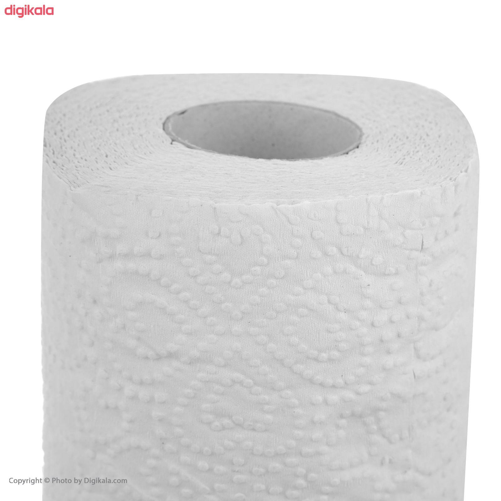 دستمال توالت پاکلند مدل Heart بسته 12 عددی main 1 2