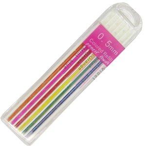 نوک مداد نوکی 0.5 میلی متری مدل رنگی کد 001