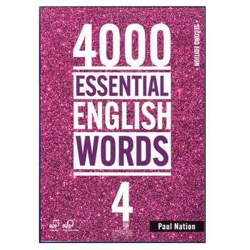 کتاب 4000Essential English Words 2nd 4 اثر Paul Nation انتشارات هدف نوین