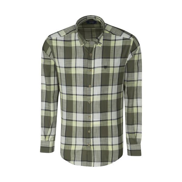 پیراهن مردانه ال سی من مدل 02141084-332