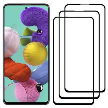 محافظ صفحه نمایش مدل FCG مناسب برای گوشی موبایل سامسونگ Galaxy A51 بسته سه عددی