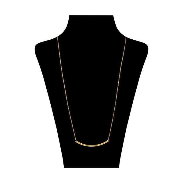 گردنبند طلا 18 عیار زنانه میو گلد مدل GD1196