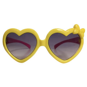 عینک آفتابی دخترانه طرح قلب کد 1334