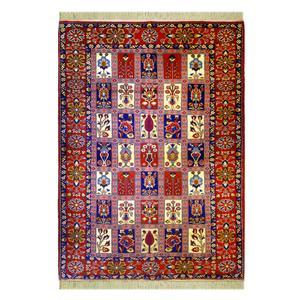 فرش دستباف دو نیم متری کد 4004