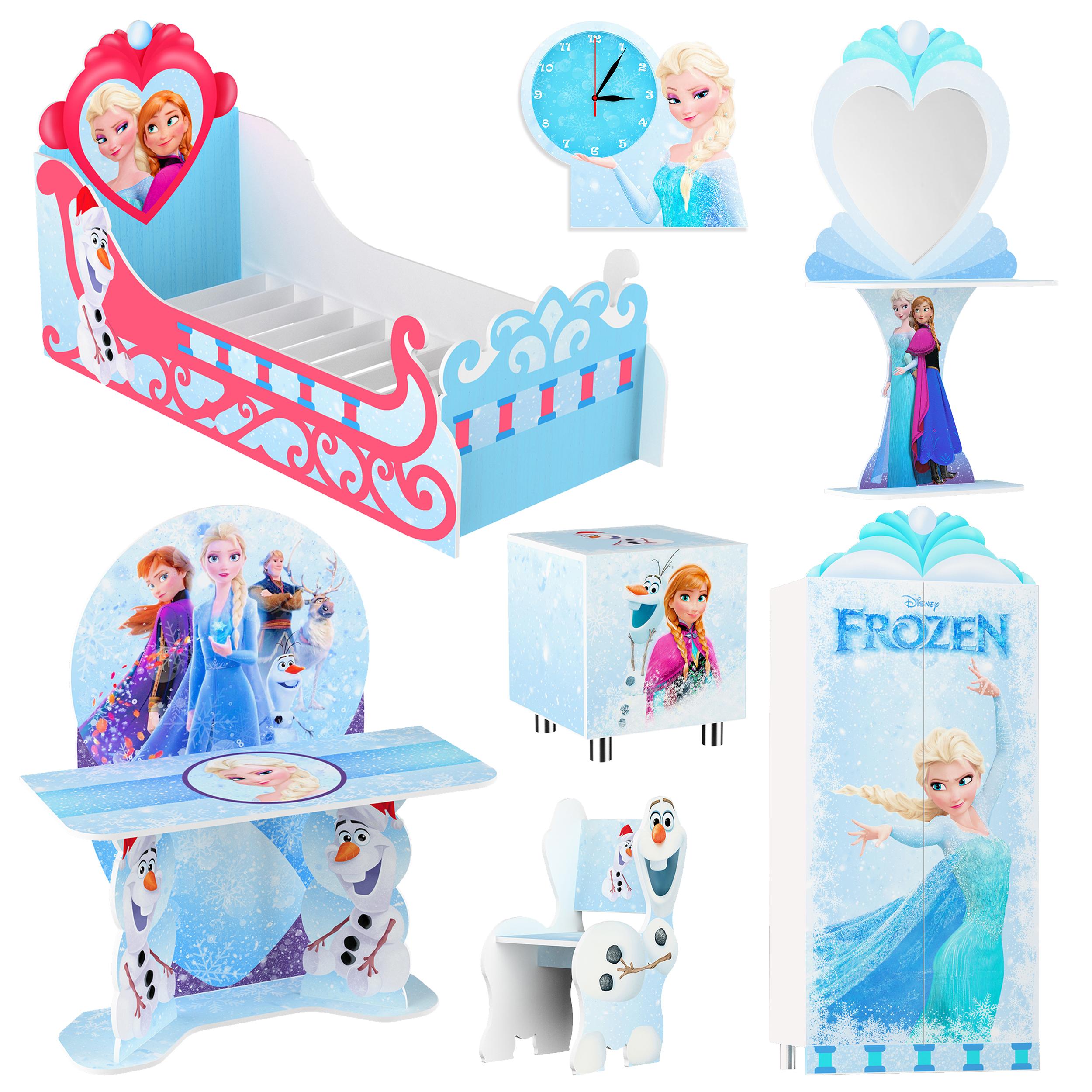 سرویس خواب کودک مدل فروزن کد Frozen-100