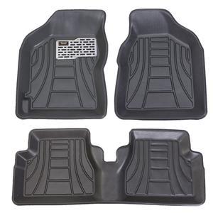 کفپوش سه بعدی خودرو ماهوت مدل لب برگردان مناسب برای تیبا 2