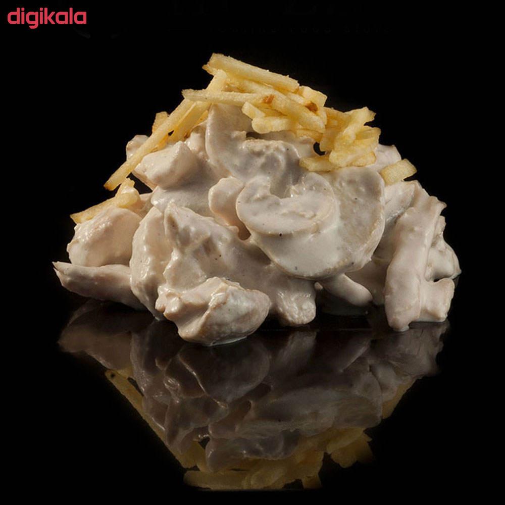 سالاد مرغ و قارچ مزبار - 500 گرم main 1 1