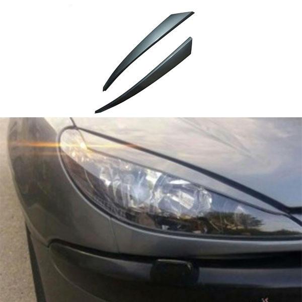 ابرویی چراغ جلو خودرو مدل FAR4 مناسب برای پژو 206 بسته دو عددی  thumb 1
