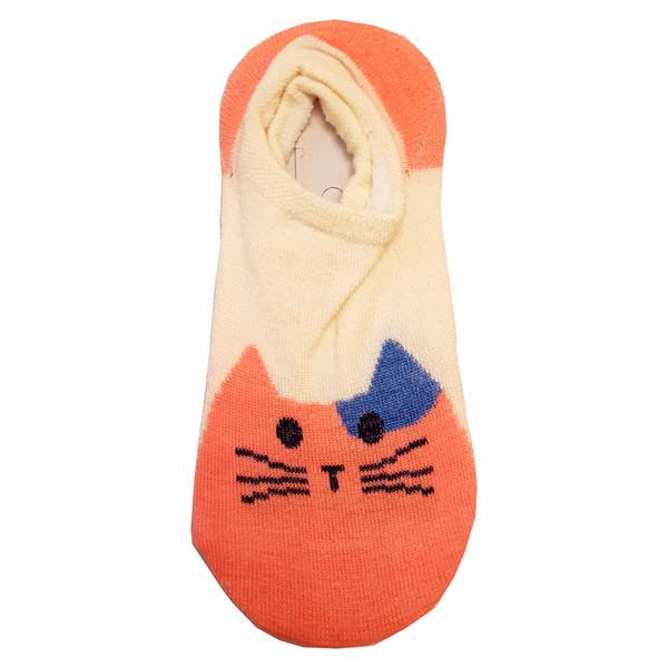 جوراب بچگانه مدل گربه