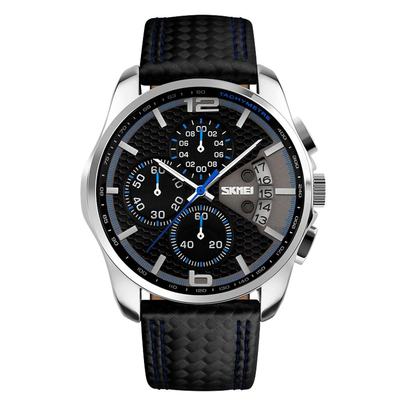 ساعت مچی عقربه ای مردانه اسکمی مدل 9106A-NP -  - 2