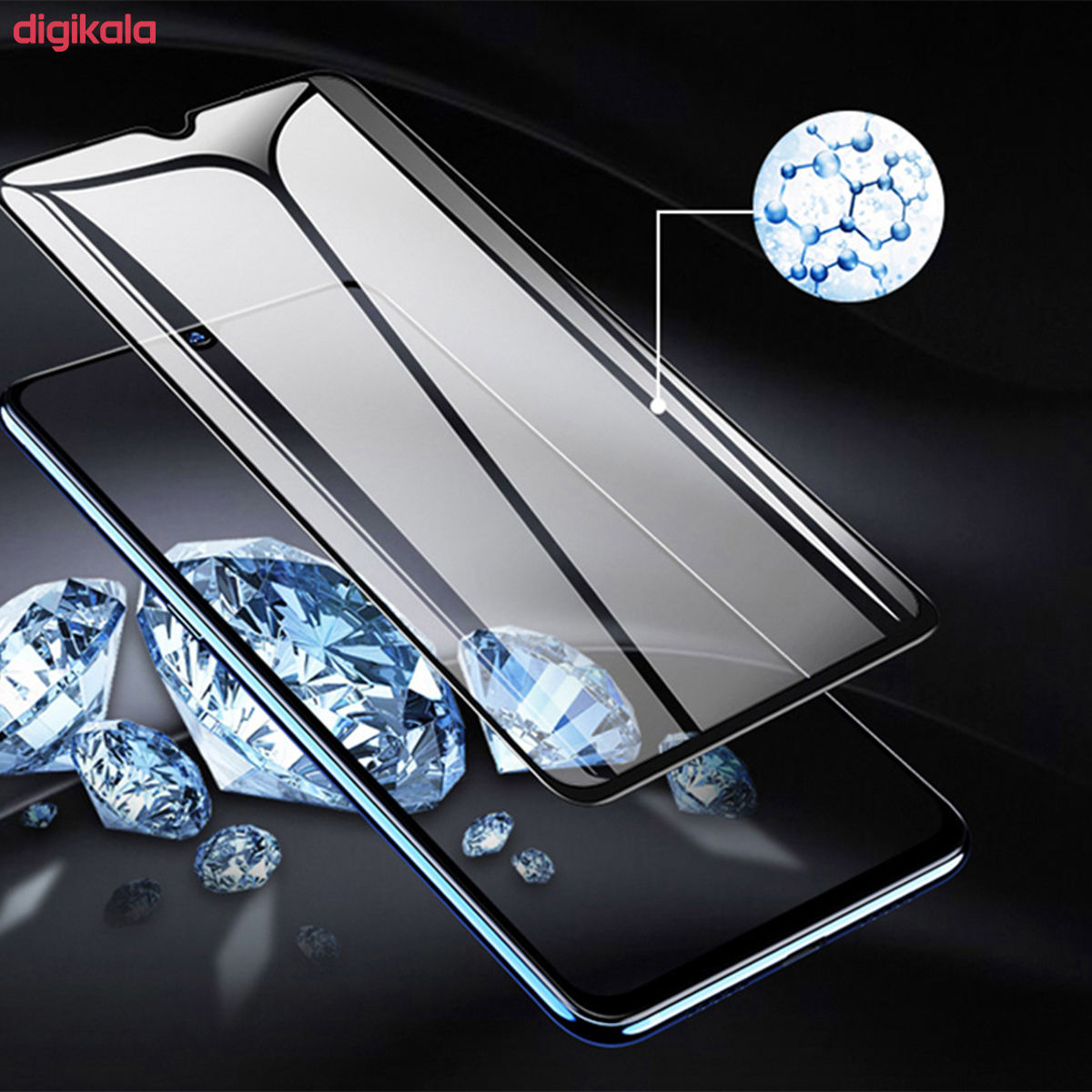 محافظ صفحه نمایش مدل PHSI مناسب برای گوشی موبایل شیائومی Redmi 9 main 1 2