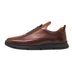 کفش روزمره مردانه چرم آرا مدل sh017 کد as