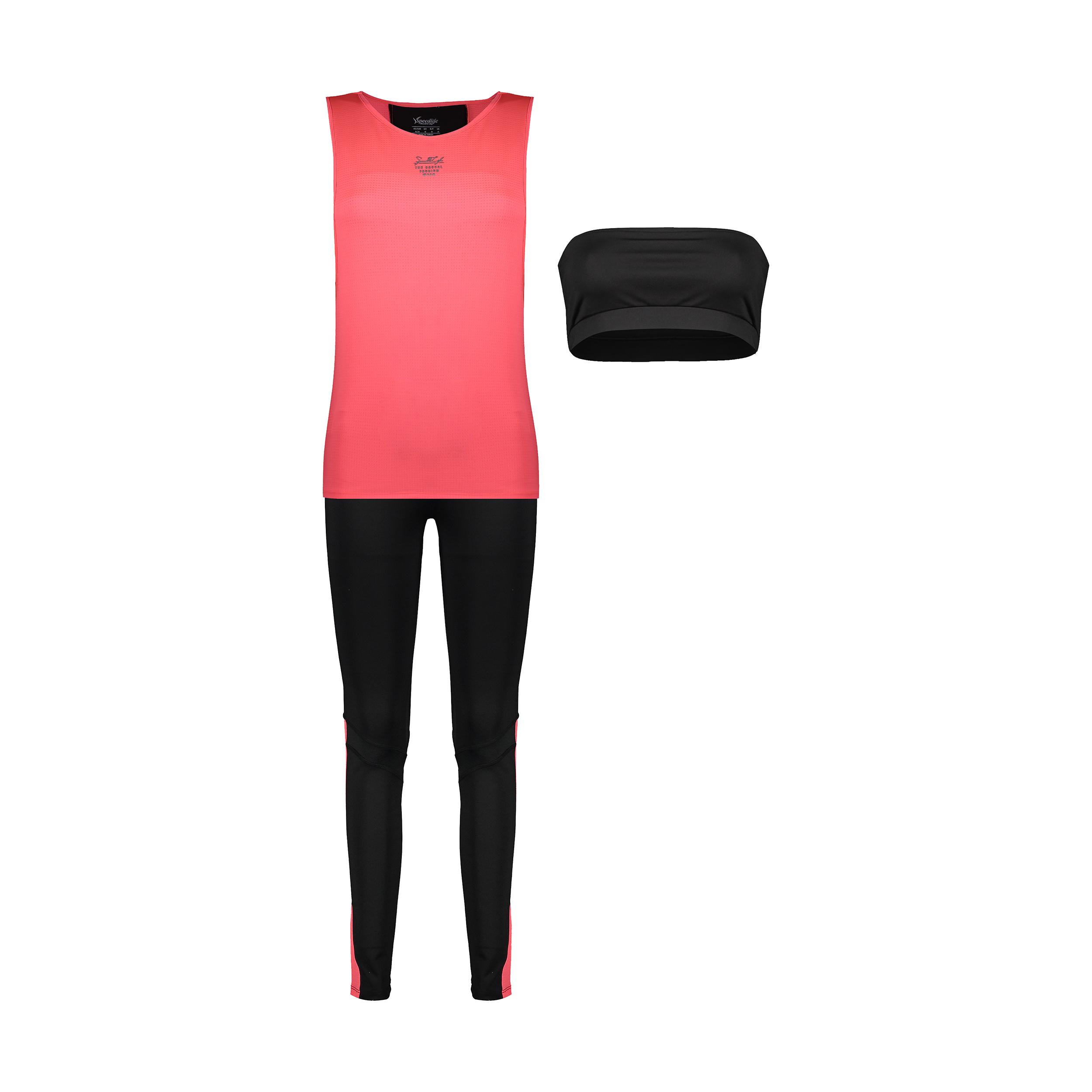 ست 3 تکه لباس ورزشی زنانه اسپیدلایف مدل 01