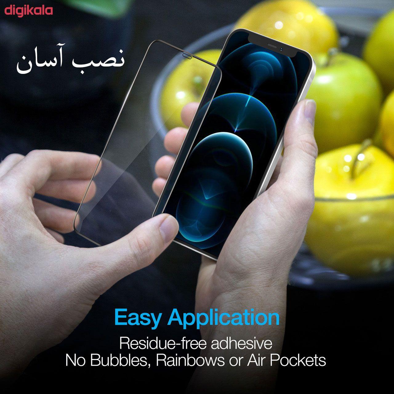 محافظ صفحه نمایش مدل FCG مناسب برای گوشی موبایل اپل iPhone 12 Pro Max بسته دو عددی main 1 15