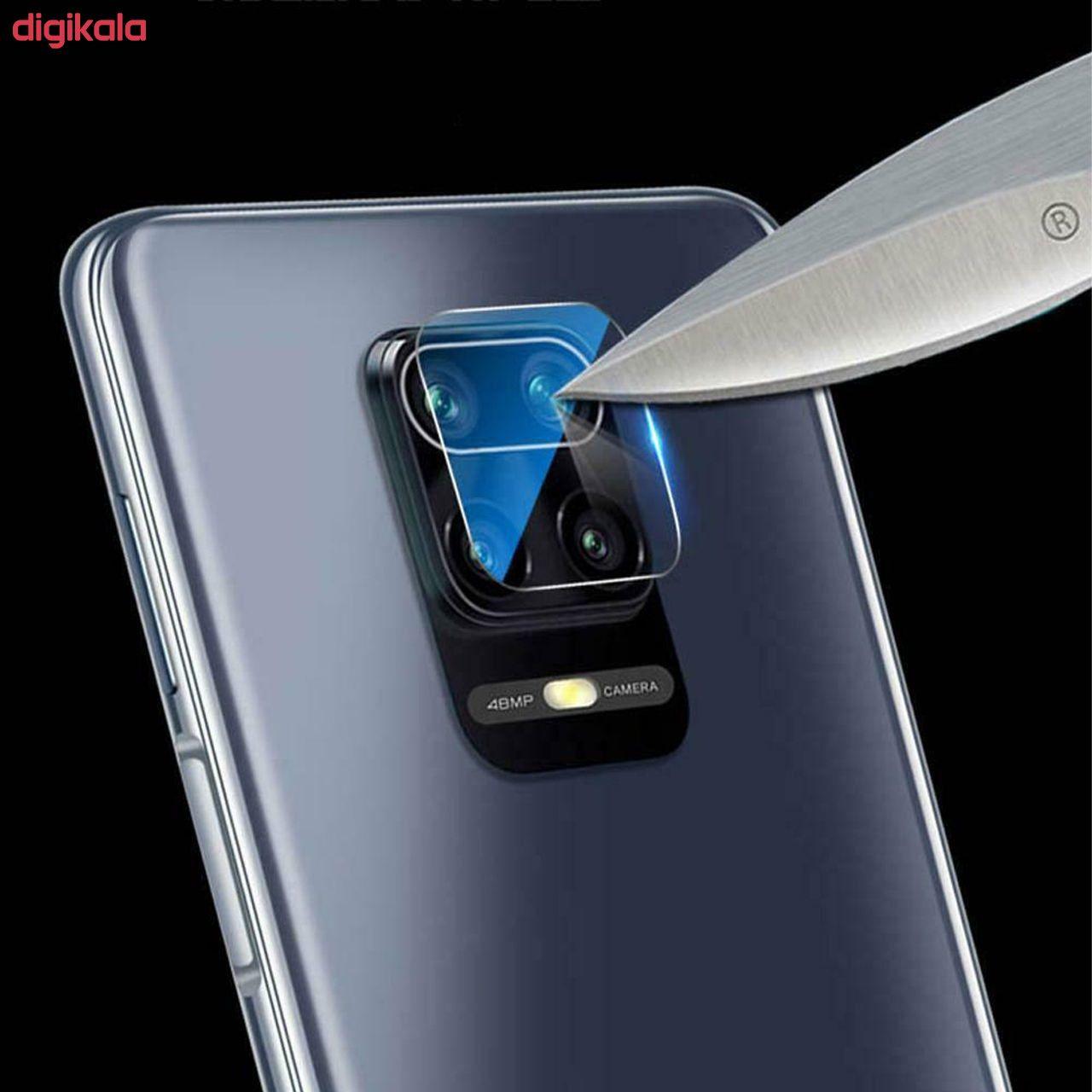 محافظ صفحه نمايش روبیکس مدل FUA مناسب برای گوشی موبایل شیائومی Redmi Note 9S/9 pro/9/9 pro max به همراه محافظ لنز دوربین main 1 6