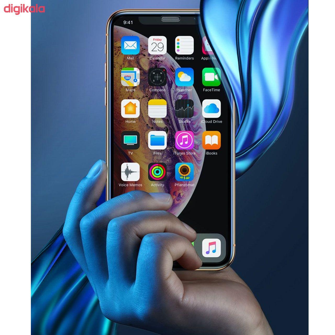 محافظ صفحه نمایش مدل FCG مناسب برای گوشی موبایل اپل iPhone 12 Pro Max بسته دو عددی main 1 11