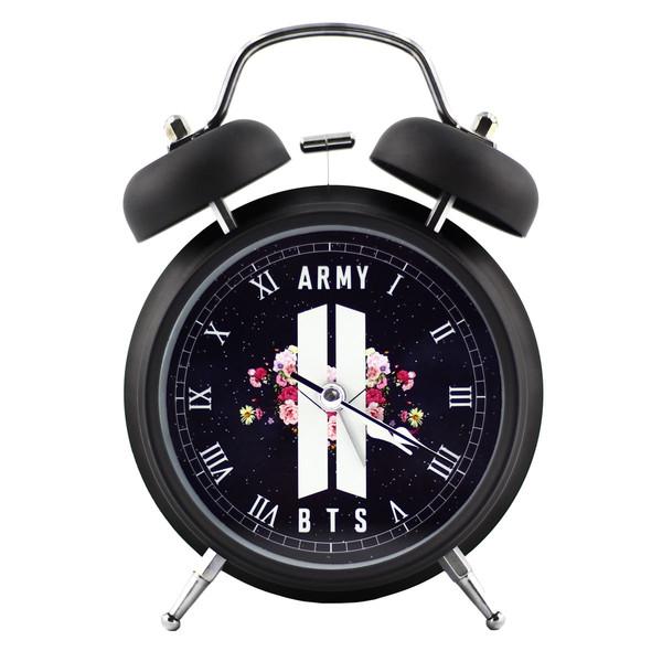 ساعت رومیزی طرح BTS Army کد 301