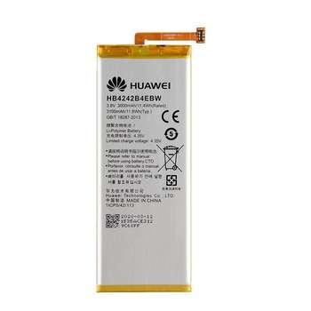 باتری موبایل مدل HB4242B4EBWW ظرفیت 3100 میلی آمپر ساعت مناسب برای گوشی موبایل آنر 6