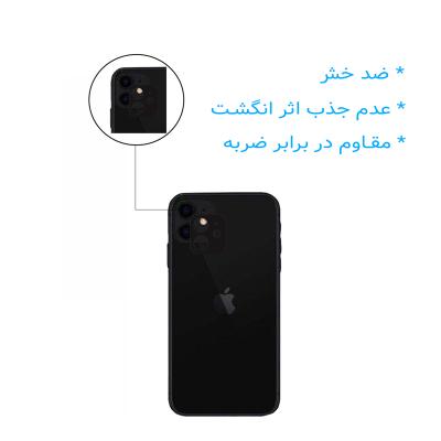 محافظ صفحه نمایش یو سیو مدل js مناسب برای گوشی موبایل اپل iphone 11 به همراه محافظ لنز دوربین
