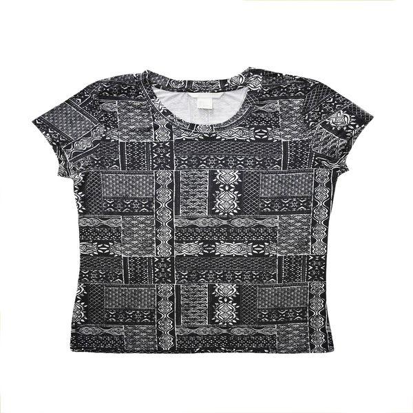 تی شرت زنانه اچ اند ام مدل h1058