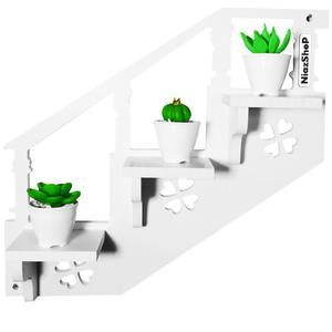 استند گلدان نیازشاپ مدل NP922به همراه گل مصنوعی
