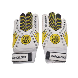 دستکش دروازبانی پسرانه طرح بارسلونا کد N-108
