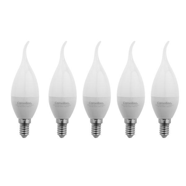 لامپ ال ای دی 8 وات کملیون مدل L101 پایه E14 بسته 5 عددی