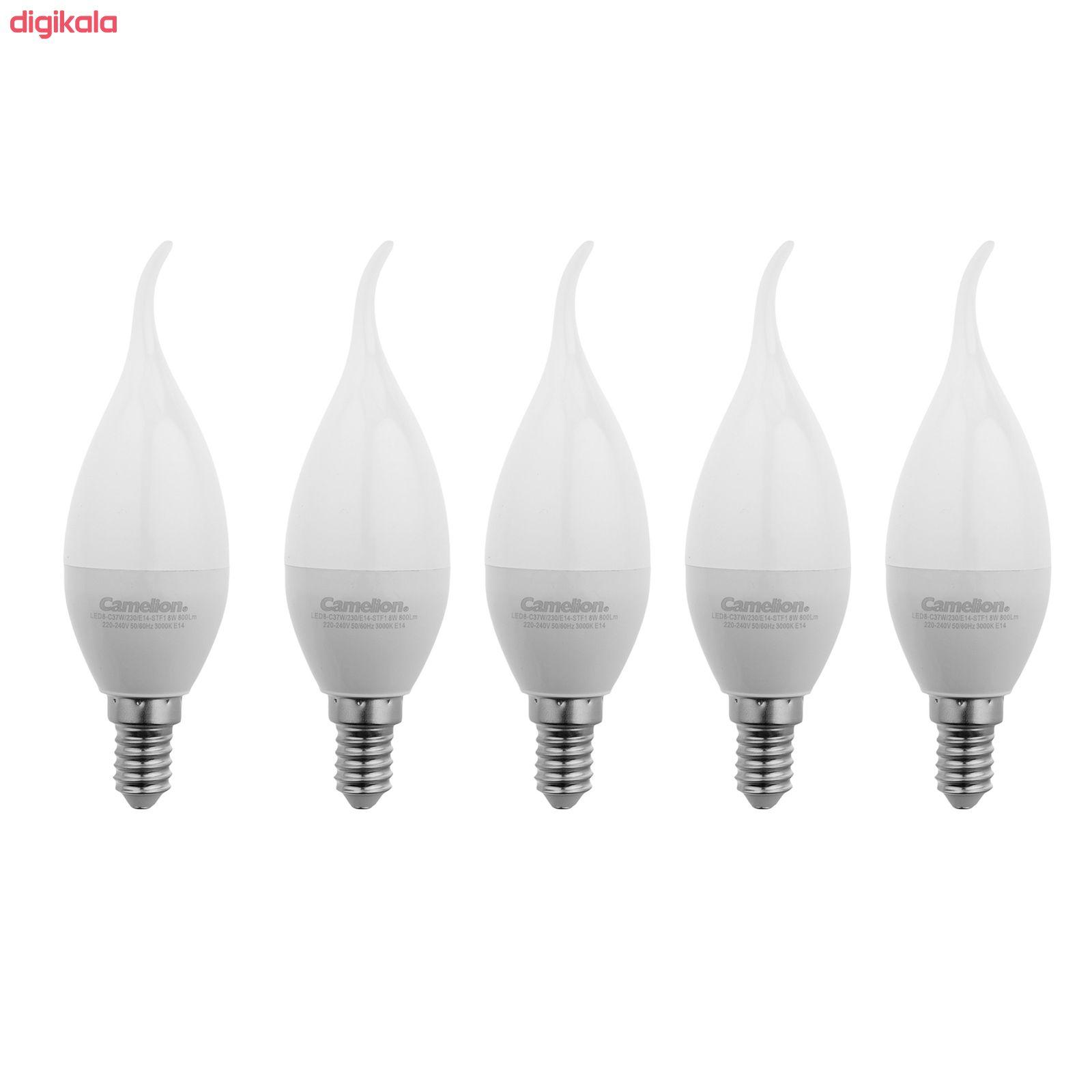 لامپ ال ای دی 8 وات کملیون مدل L101 پایه E14 بسته 5 عددی main 1 1