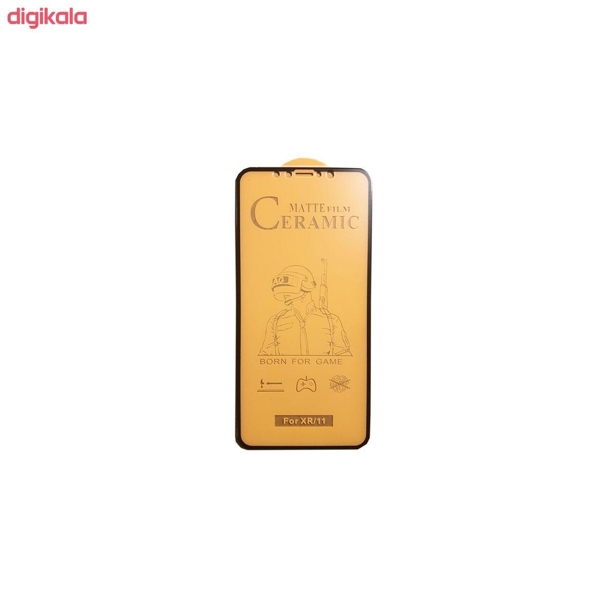 محافظ صفحه نمایش سرامیکی مدل FLCRM01to مناسب برای گوشی موبایل اپل iPhone XR main 1 2