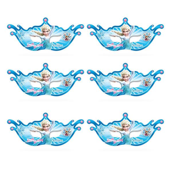 نقاب بالماسکه سورساتان مدل فروزن بسته 6 عددی