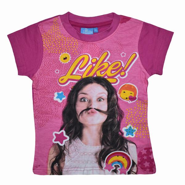 تی شرت آستین کوتاه دخترانه دیزنی مدل dis002
