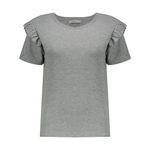 تی شرت زنانه کالینز مدل CL1031960-GREYMELANGE