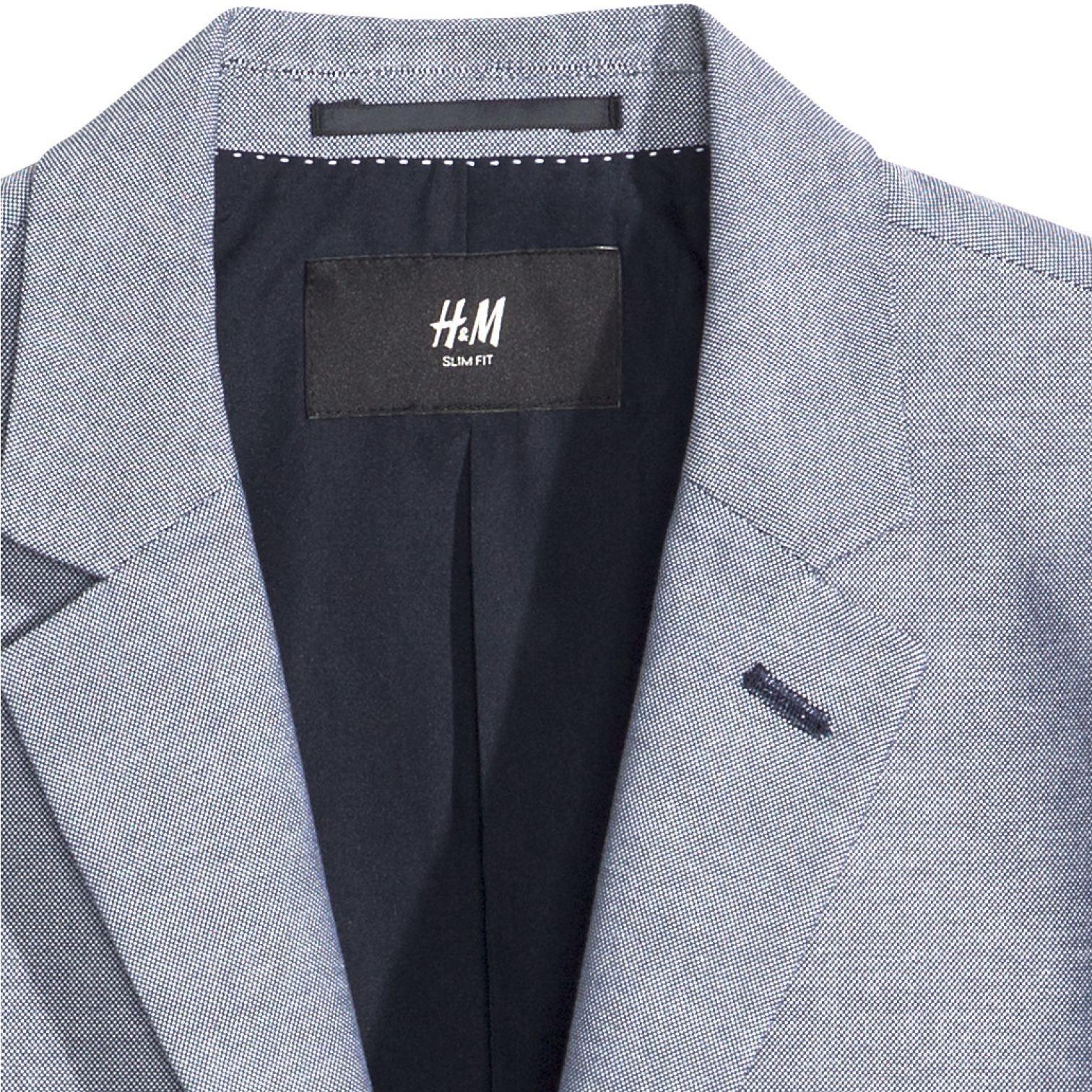 کت تک مردانه اچ اند ام مدل 00351 -  - 4
